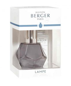 A; Geometry Black Gift Set | lampe-berger-lamps:Lampe Berger Lamps